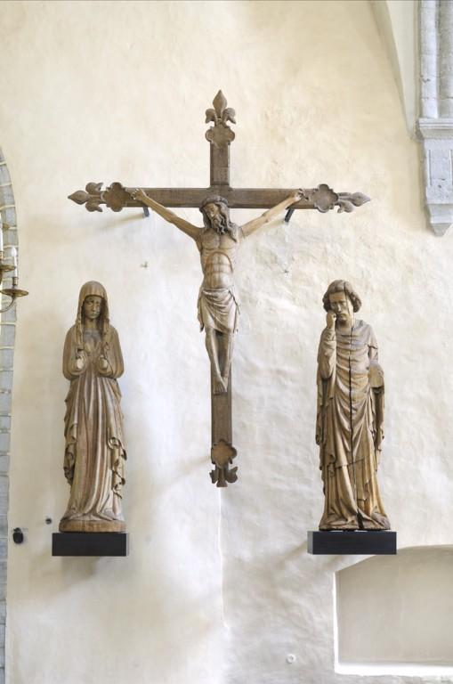 Harju-Risti kiriku krutsifiksigrupp. Foto: Eesti Kunstimuuseum