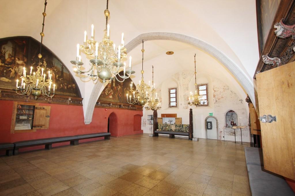 Raekoja Raesaal. Foto: E. Kangor, 20.01.2016.a