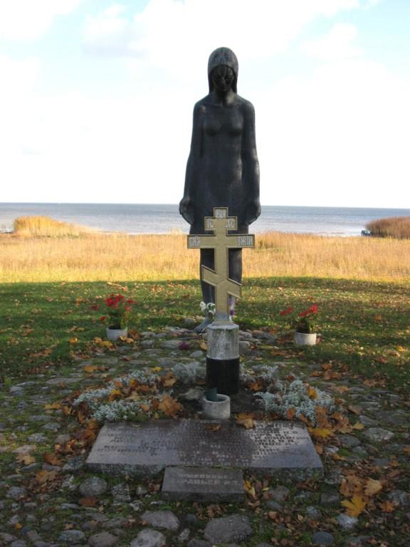 II maailmasõjas hukkunute ühishaud. Foto: Sille Raidvere 15.10.2008