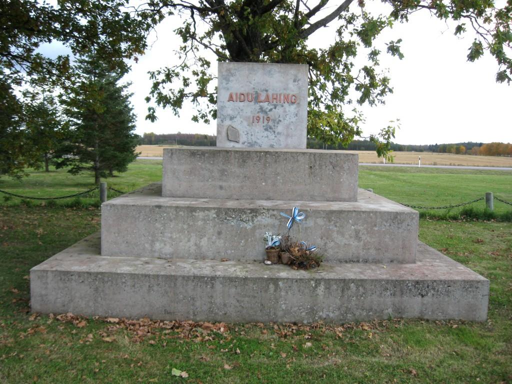 Aidu lahingu mälestusmärk  Autor Sille Raidvere  Kuupäev  03.10.2008