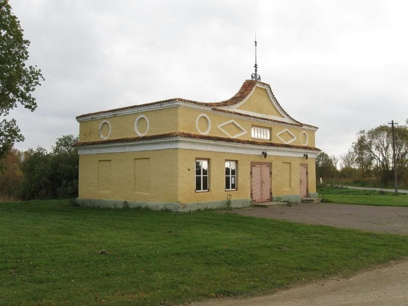 Kalvi mõisa sepikoda, 19.saj.  Autor Tõnis Taavet  Kuupäev  01.10.2008