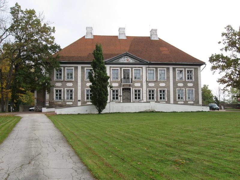 Maidla mõisa peahoone, 1764-1767  Autor Tõnis Taavet  Kuupäev  14.10.2008
