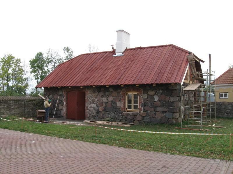 Maidla mõisa aednikumaja, 19.saj.  Autor Tõnis Taavet  Kuupäev  14.10.2008
