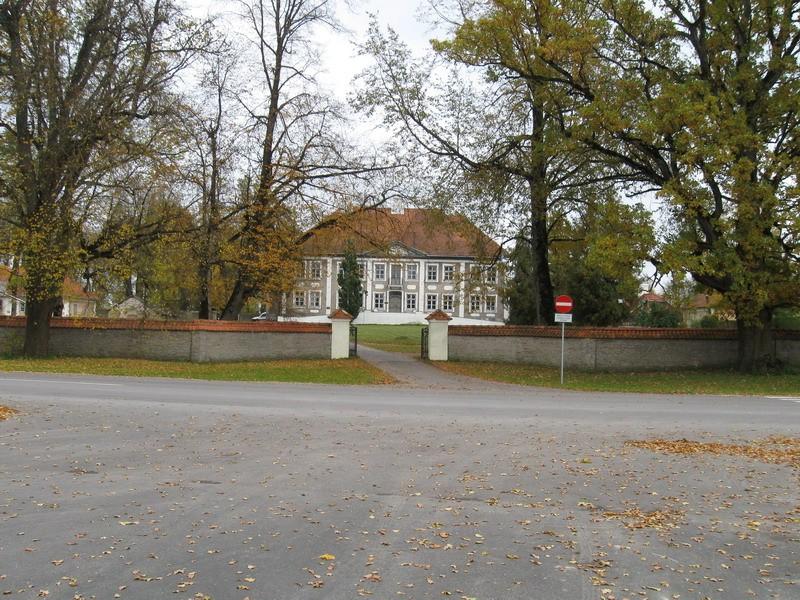 Maidla mõisa piirdemüür 18.saj.  Autor Tõnis Taavet  Kuupäev  14.10.2008