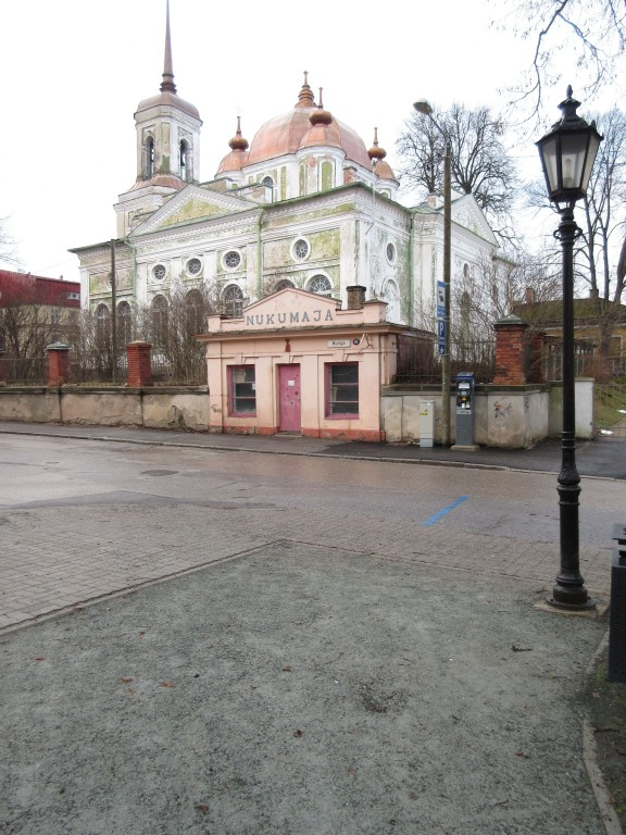 Magasini 1a Uspenski kiriku vaade kagust. Foto Egle Tamm, 09.02.2016.