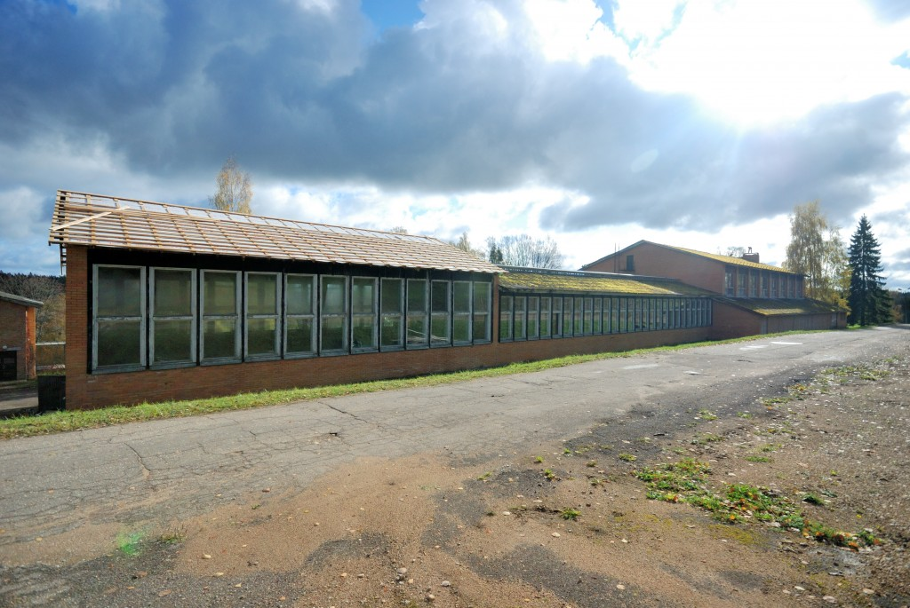 Kääriku spordihoone tagantvaade. Karen Jagodin 2013.