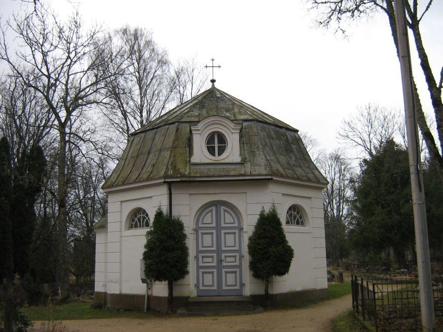 Suure-Jaani kalmistu kabel. Foto: Anne Kivi, 13.11.2008.