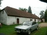 Lodja postijaama postipoiste elamu, vaade hoovist    Autor E.Rajari    Kuupäev  07.09.2004