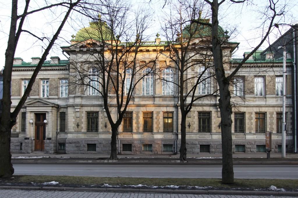 Eesti Panga vanem hoone. 15.03.2016. Foto: Timo Aava