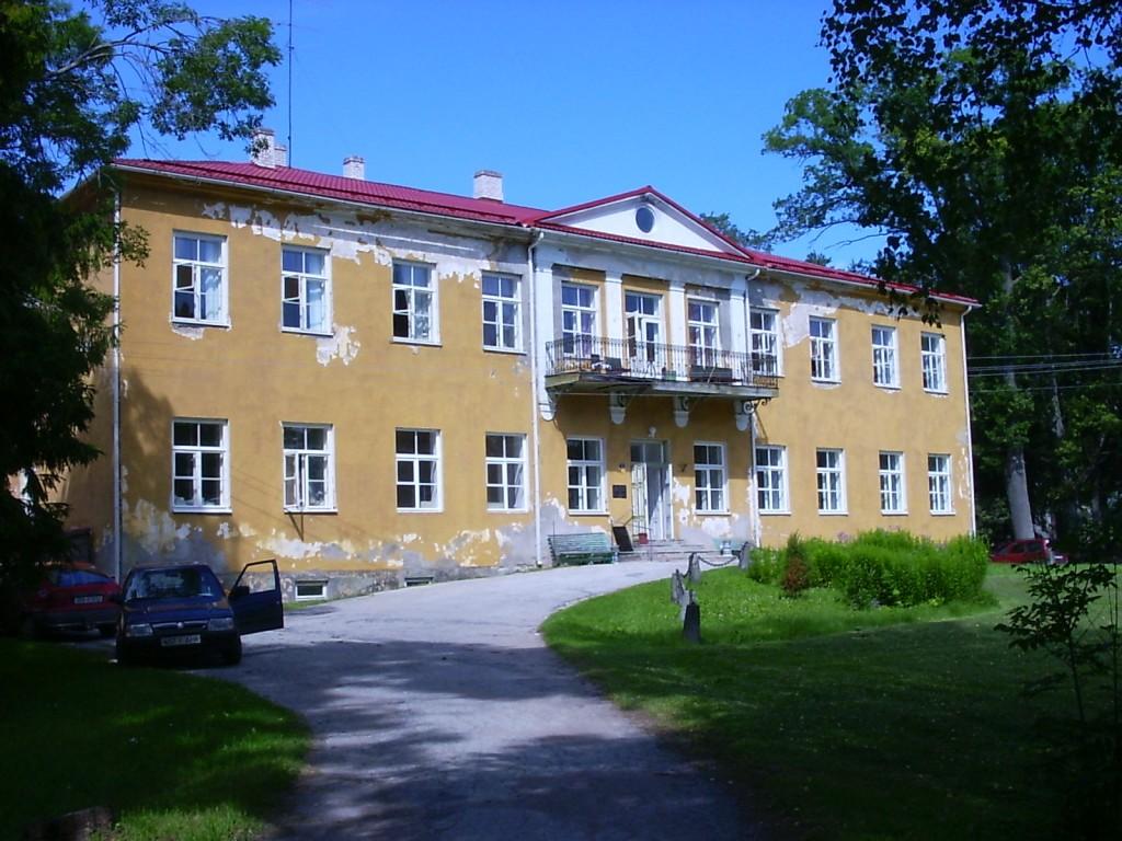 Seli mõisa peahoone    Autor Aili Peterson    Kuupäev  10.08.2004