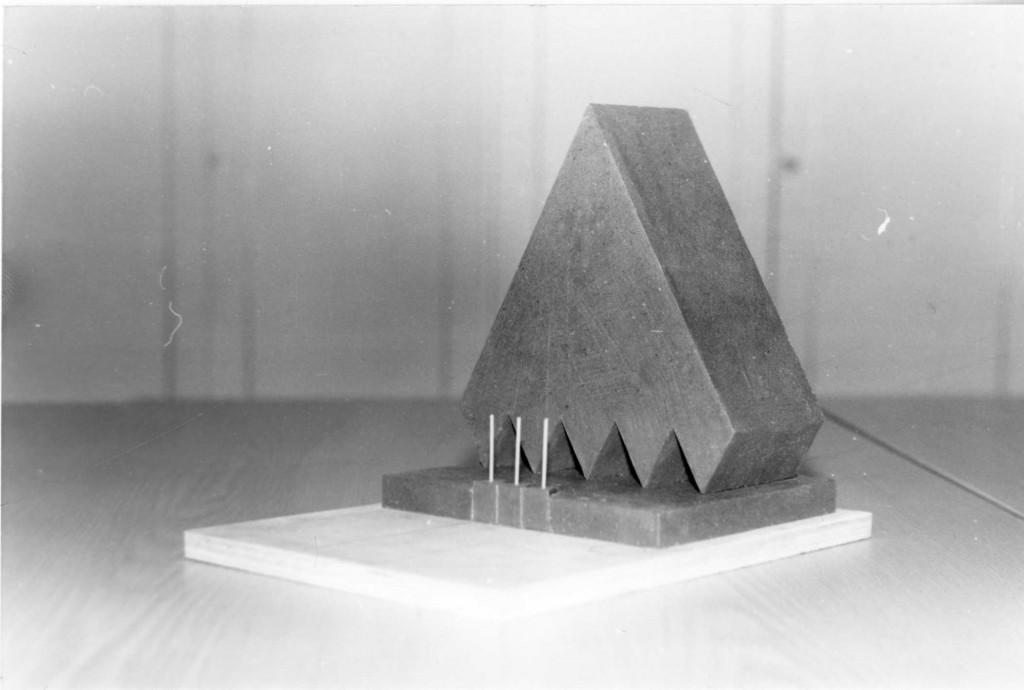 Monumendi võidutöö makett, autor Jan Zubaka