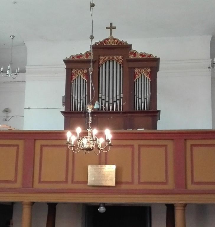 Anna kiriku orel. Foto: K. Klandorf 27.04.2016.
