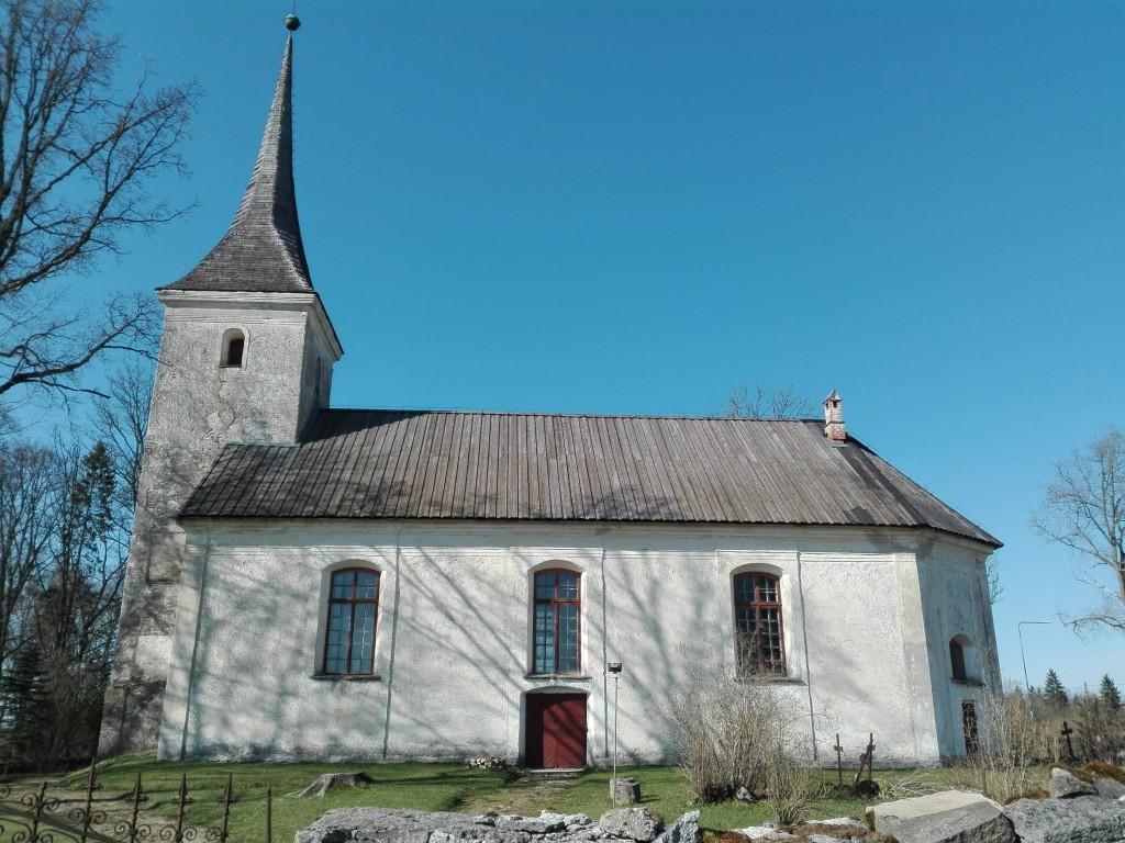 Anna kirik, vaade lõunast. Foto: K. Klandorf 28.04.2016.