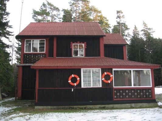 Sagadi mõisa suvila : vaade läänest  Autor Anne Kaldam  Kuupäev  30.12.2008