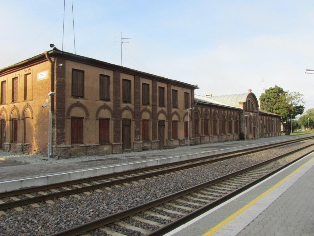 Tapa raudteejaam. Vaade kagust. Foto R. Alatalu 28.08.2012