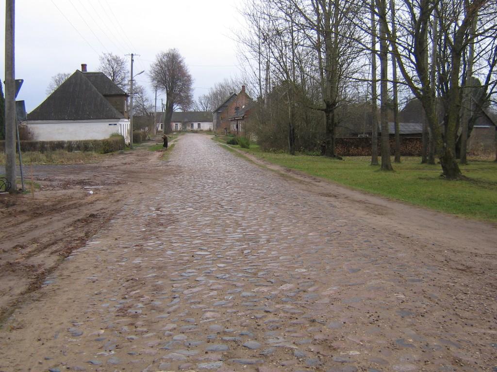 Vaade munakiviteele Räpina-Koidula maanteelt.  Autor Viktor Lõhmus  Kuupäev  10.11.2008