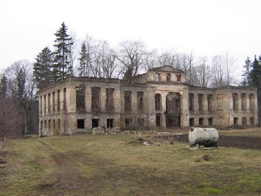 Pada mõisa peahoone varemed :16029 vaade idast  Autor Anne Kaldam  Kuupäev  23.03.2007