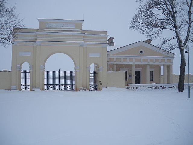 Raadi mõisa värav ja väravahoone  Autor Egle Tamm  Kuupäev  22.01.2009