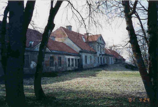 Matsalu mõisa peahoone    Autor Kalli Pets    Kuupäev  24.04.2001