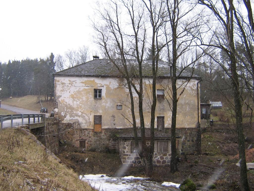 Kösti veski Autor A.Kivi  Kuupäev  29.02.2008