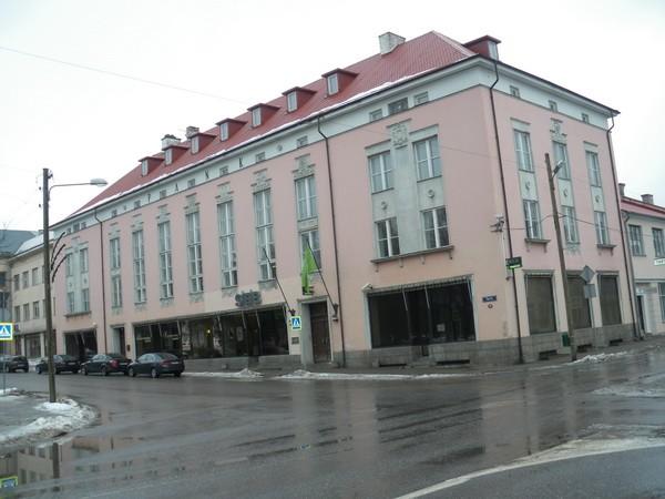 Võru pangahoone  Autor I. Raudvassar  Kuupäev  27.01.2009