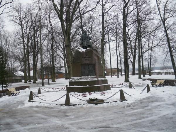 Fr.R.Kreutzwaldi monument  Autor I. Raudvassar  Kuupäev  27.01.2009