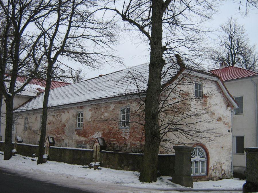Olustvere mõisa teenijatemaja Autor Anne Kivi  Kuupäev  29.01.2009