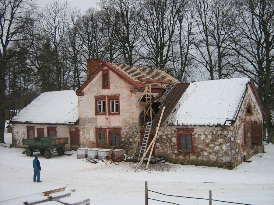 Olustvere mõisa meierei Autor Anne Kivi  Kuupäev  29.01.2009