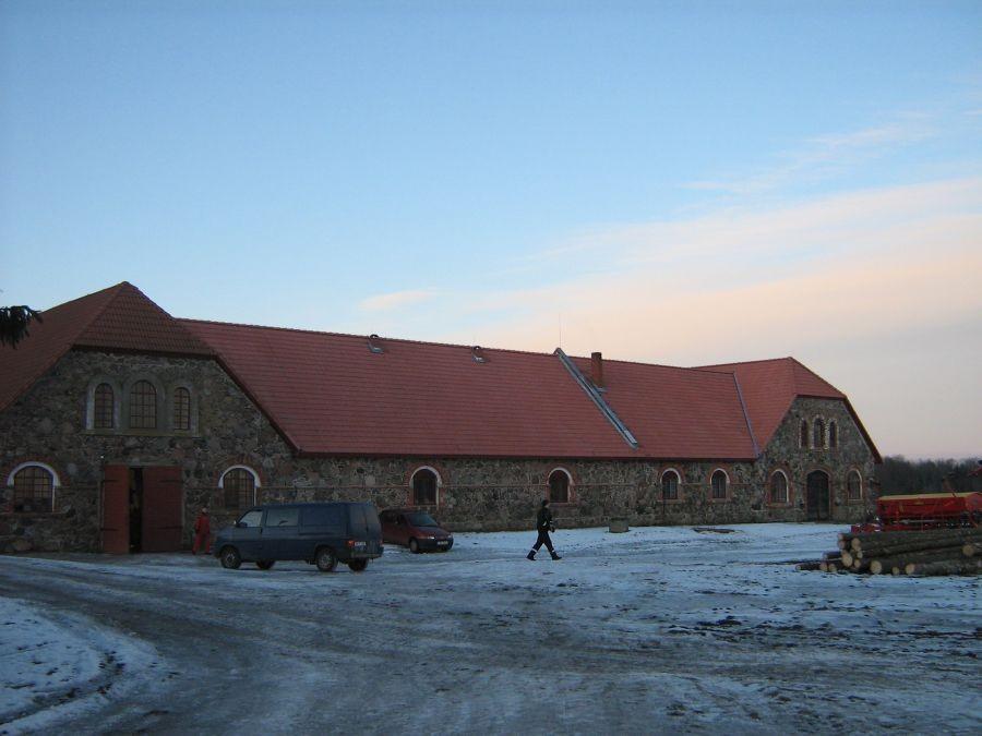 Olustvere mõisa laudad, eestvaade  Autor Anne Kivi  Kuupäev  10.02.2009