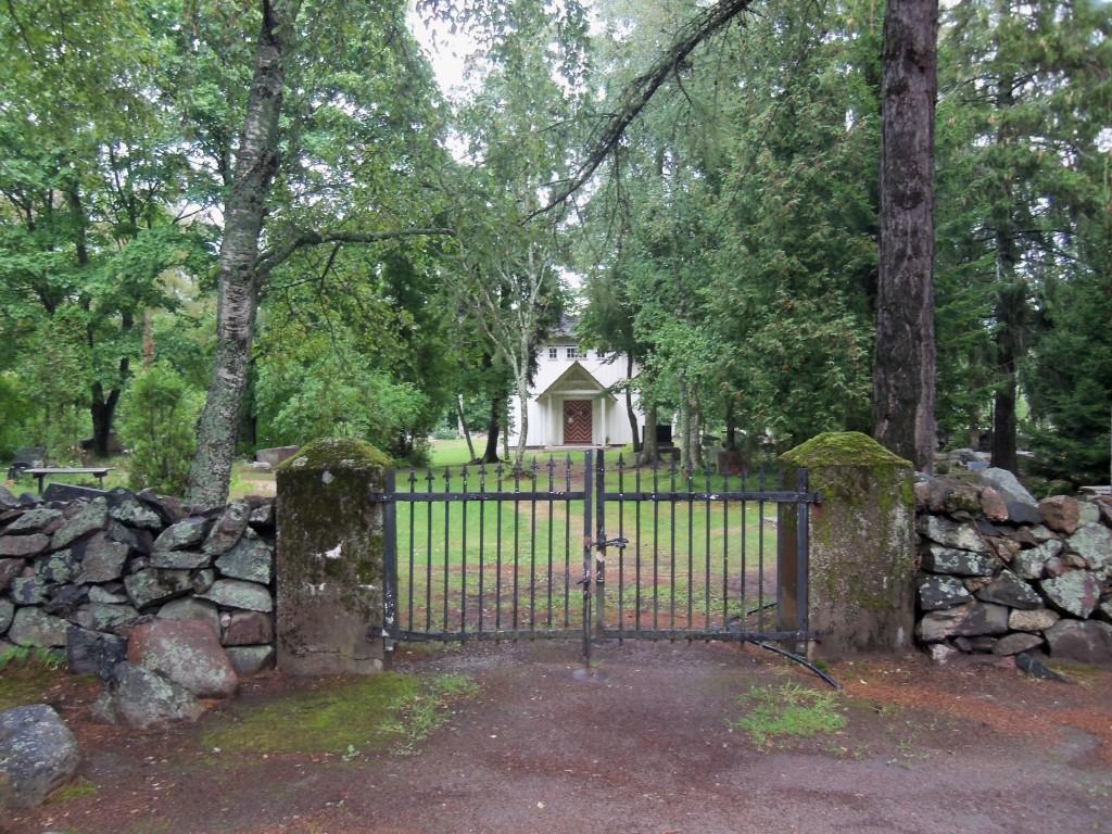 Kalmistu värav. Foto Silja Konsa 07.07.2016.