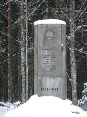 II maailmasõjas hukkunute ühishaud  Autor I. Raudvassar  Kuupäev  19.02.2009