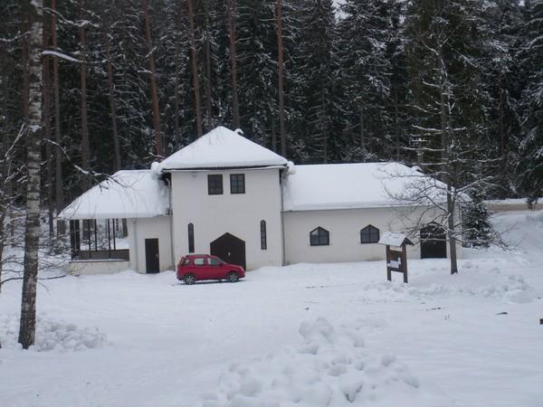 Antsla Metsakalmistu kabel  Autor I. Raudvassar  Kuupäev  19.02.2009