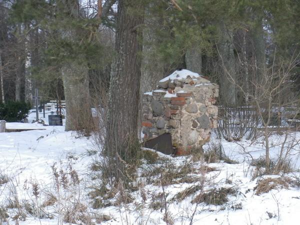 Kraavi kalmistu  Autor I. Raudvassar  Kuupäev  23.02.2009