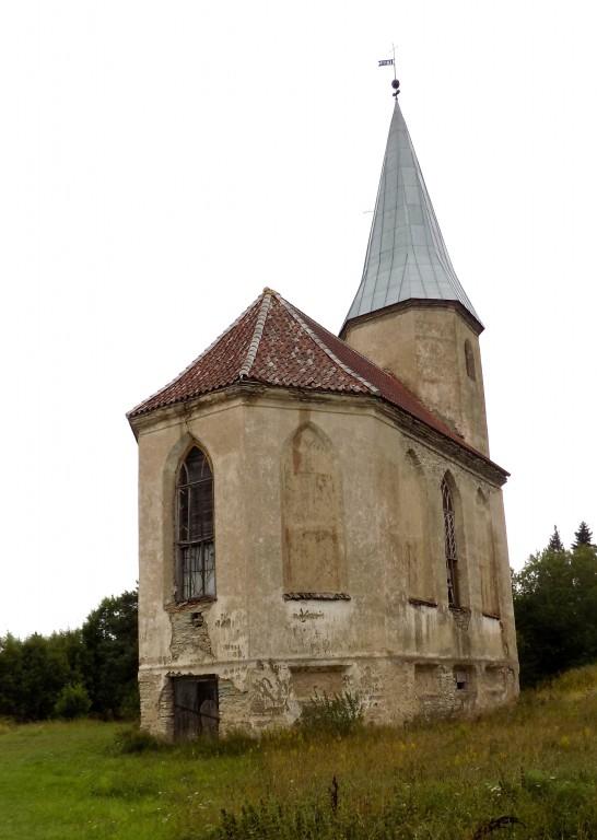Paluküla kirik, vaade kagust Autor K.Koit Kuupäev 30.08.2016