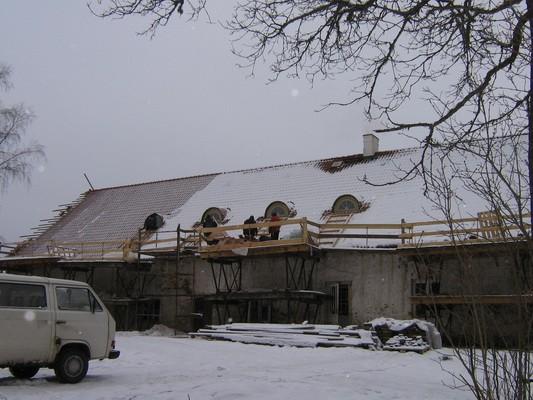 Palmse mõisa linnaserehi, 15900,ehitus käib-  Autor Anne Kaldam  Kuupäev  17.02.2009