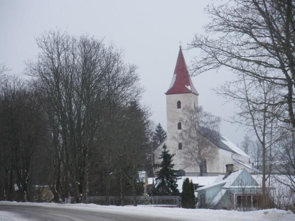 Rõuge kiriku vaade  Autor I. Raudvassar  Kuupäev  26.02.2009