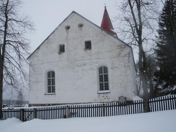Rõuge kiriku kooriruum  Autor I. Raudvassar  Kuupäev  26.02.2009