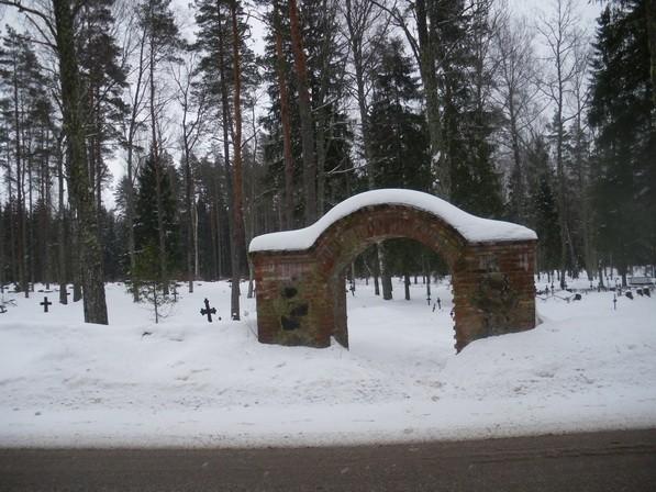 Nogopalu kalmistu  Autor I. Raudvassar  Kuupäev  26.02.2009
