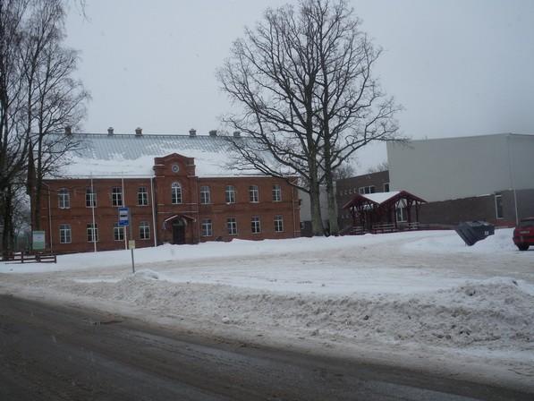 Rõuge kihelkonnakooli hoone  Autor I. Raudvassar  Kuupäev  26.02.2009