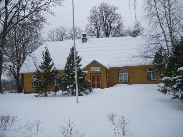 Jaani külakooli hoone  Autor I. Raudvassar  Kuupäev  25.02.2009