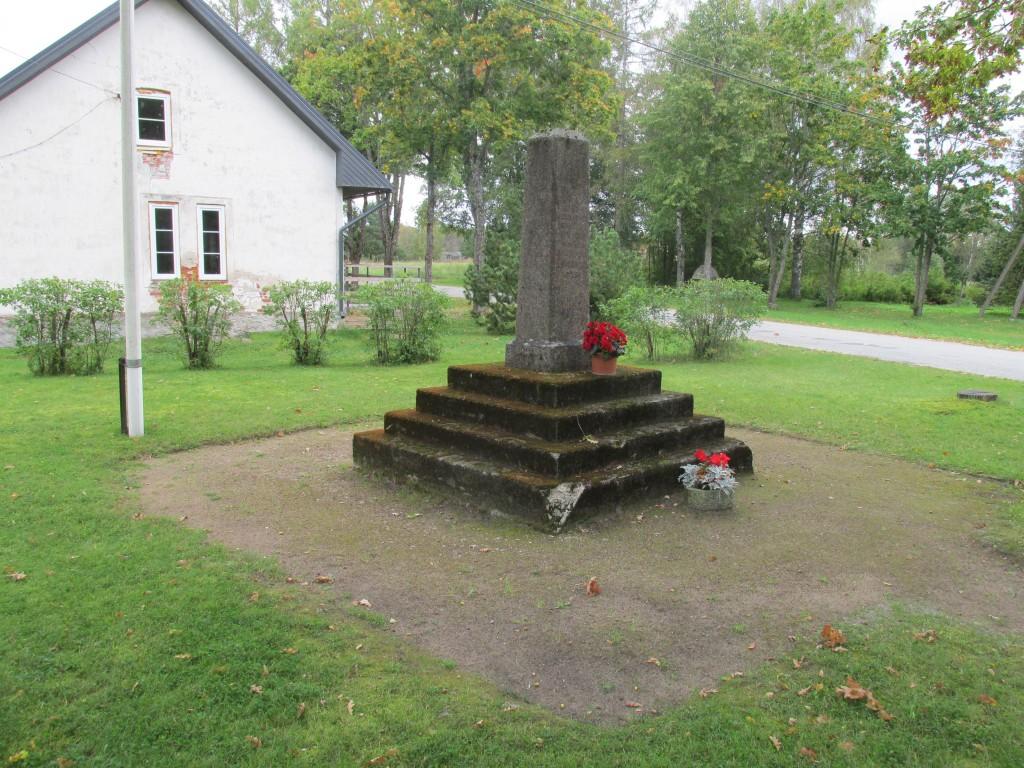 Vabadussõja Lohusuu lahingu mälestussammas. Foto: Kalle Merilai 16.09.2016.a.