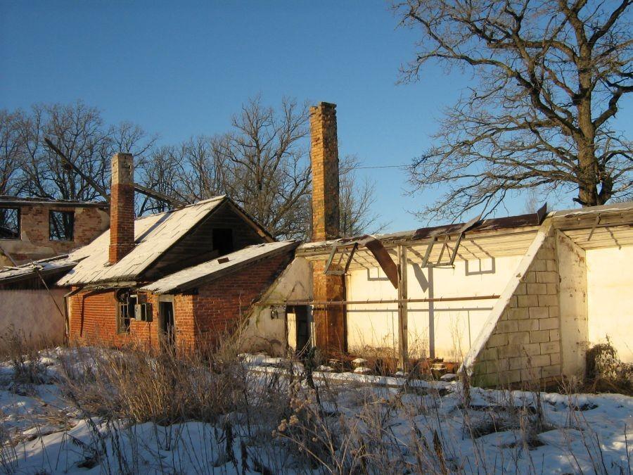 Vaade Polli mõisa kasvuhoonele Autor Anne Kivi  Kuupäev  02.01.2009