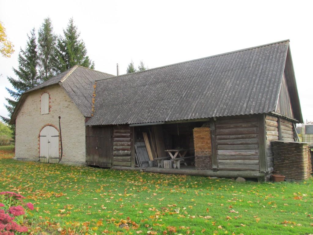 Kohvimäe talu ait-laut, 19.saj.  Vaade loodest. Foto: Kalle Merilai 11.10.2016.a.