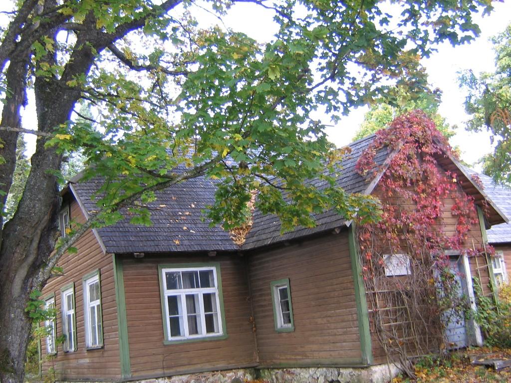 Vaade hoovi poolt  Autor Viktor Lõhmus  Kuupäev  02.09.2008