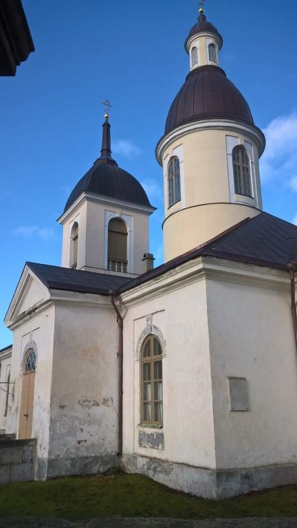 Kiriku vaade WS-suunast. 1.11.2016. Foto: R. Peirumaa