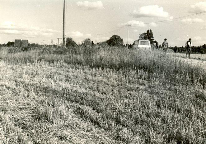 Kivikalme. Foto: E. Väljal, 03.09.1984.