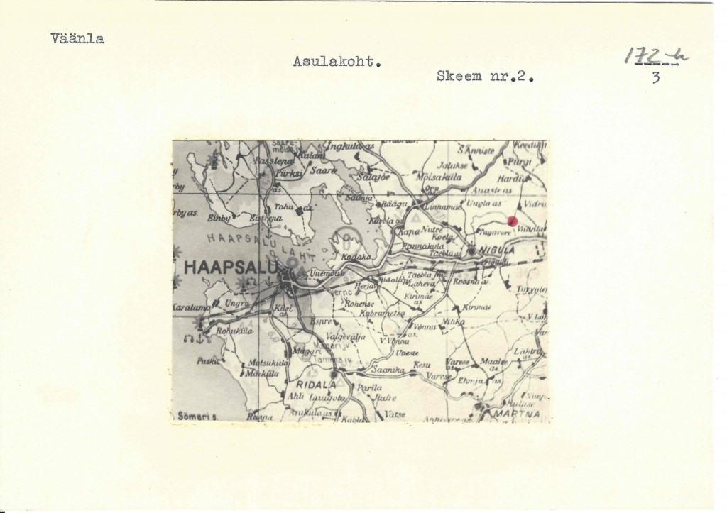 Mälestise pass. Koostanud arheoloog Mati Mandel. 1986. Lk 3