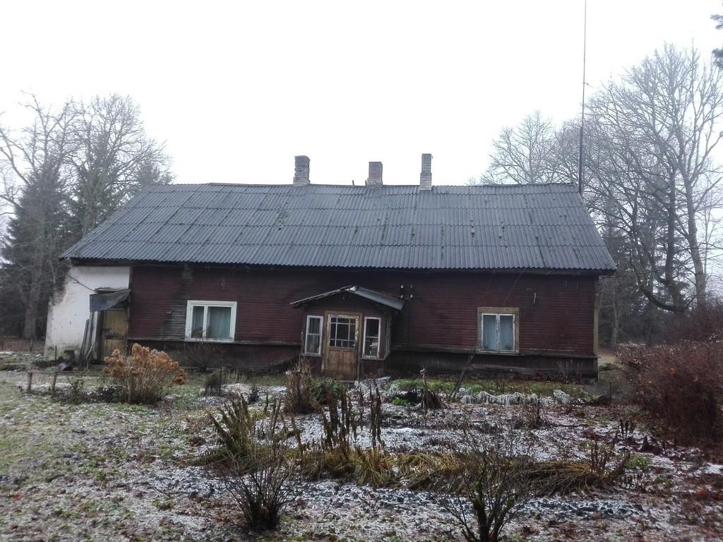 Väinjärve mõisa aednikumaja, vaade idast. Foto: K. Klandorf 19.12.2016.