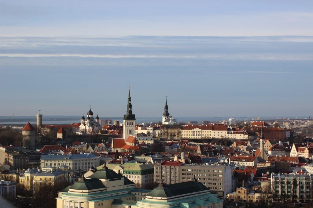 Tallinna vanalinna muinsuskaitseala. 25.01.2017. Foto: Timo Aava