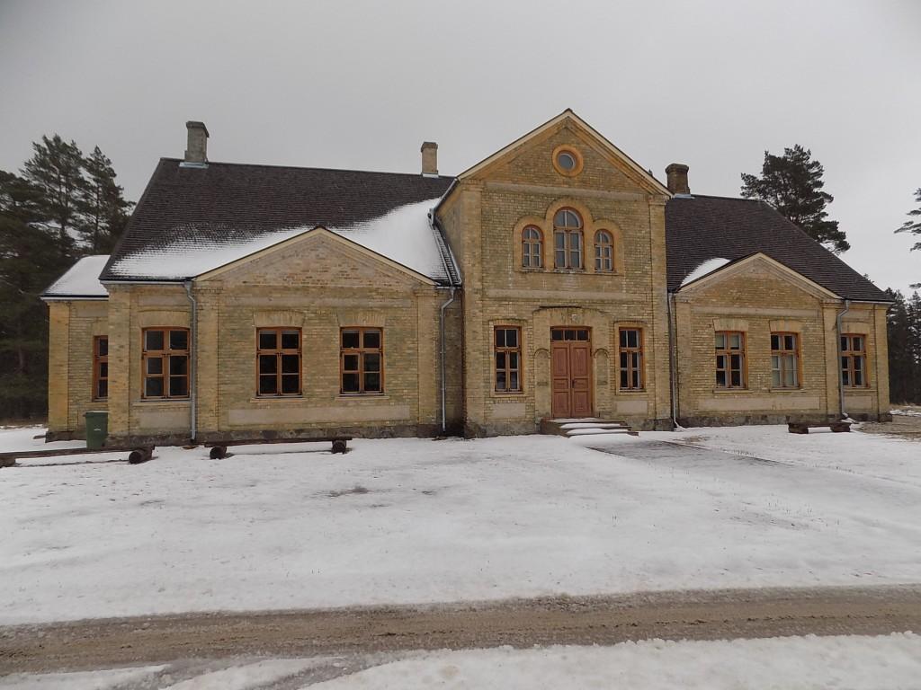 Kõpu õigeusu kirik-koolimaja, vaade läänest Autor K.Koit Kuupäev 27.02.2017